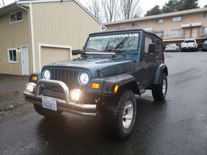 Jeep Wrangler 1997 for Sale in Mountlake Terrace, WA