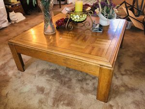 Coffee table 38x38x15H for Sale in San Jose, CA