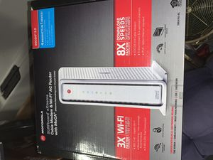 Motorola Router and Modem Combo SBG6782 for Sale in Auburn, WA