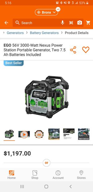 Generators for sale for Sale in The Bronx, NY