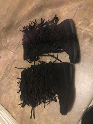 Size 9 women boots black for Sale in Houston, TX