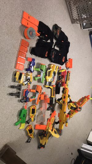 NERF GUNS FOR SALE!!(PRICE NEGOTIABLE) for Sale in Sterling Heights, MI
