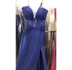 Grand Asia plus size royal blue prom dress for Sale in Plymouth, MA