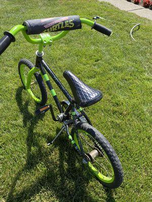 "Kids Bike - 16"" tires Ninja Turtles for Sale in Northville, MI"