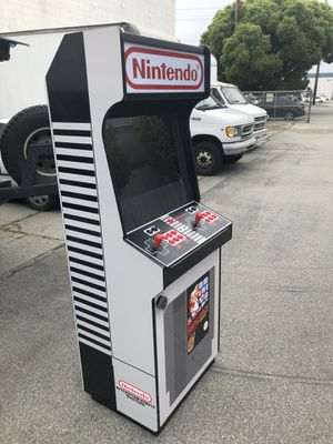 """New Nintendo theme Arcade 6000 games, 2 player, 24"""" LCD, MAME HyperSpin for Sale in Santa Fe Springs, CA"""
