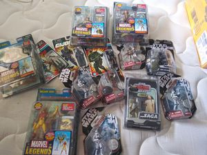 Collectable toys Star Wars,Xmen Marvel for Sale in Anaheim, CA
