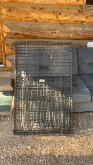 Large dog folding crate dog kennel for Sale in Rollinsville, CO