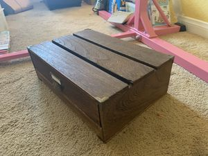Wood Monitor Stand w/ Drawer for Sale in Vista, CA