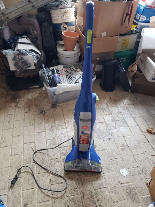 Hoover spin scrub double tank vacuum