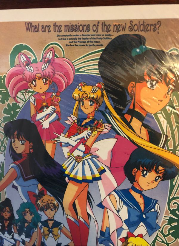 Sailor Moon S - Pretty Soldier Puzzle from the early 2000s