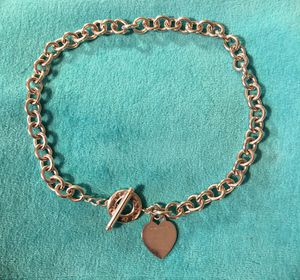 Return to Tiffany heart tag necklace for Sale in Rochester, MI