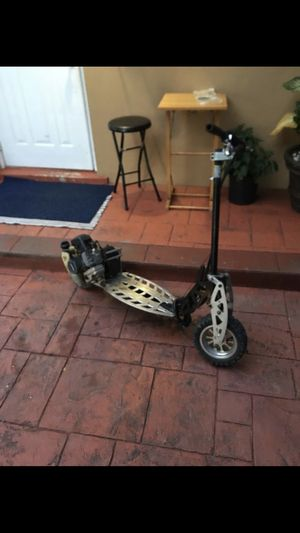 Rugged Gas Scooter Folding Evo 2X Big 50cc Powerboard EPA Pocket Scooters for Adult for Sale in Miami, FL