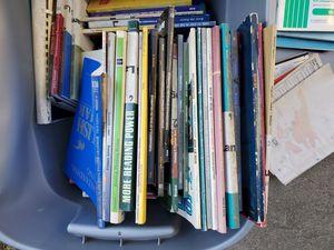 Free box full of ESL instruction books downtown Riverside for Sale in Riverside, CA