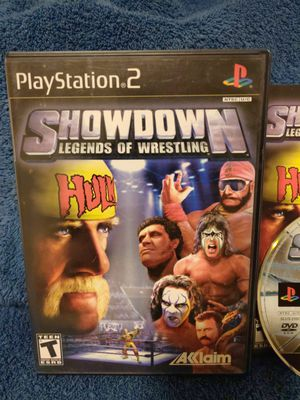 Showdown Legends of Wrestling PS2 (Playstation 2) Game for Sale in Fresno, CA