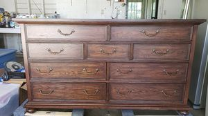 Thomasville dresser 9 drawers (like new) for Sale in Claremont, CA
