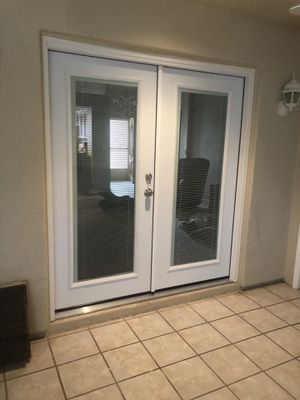 new french doors. (please read) (not all doors have the same price) for Sale in Phoenix, AZ