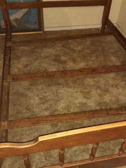 Older Queen Model BED FRAME for Sale in Marshall,  TX