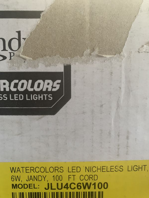 Jandy Nicheless water color led pool lights 6,12, 24 volts hot tub spa pool light