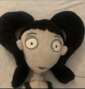 Disney frankenwinnie elsa van helsing plush doll for Sale in Lakeland, FL