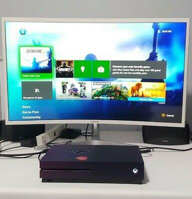 Microsoft Xbox One S 1tb Fortnite Special Edition Gradient Purple