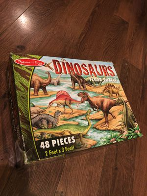 Melissa and Doug dinosaurs floor puzzle – 48 pieces - Preschool - home school for Sale in AZ, US