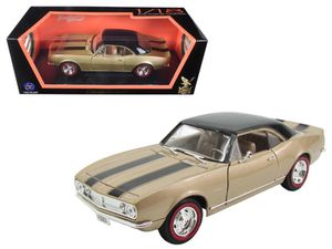 Used, 1967 Chevrolet Camaro Z/28 Gold with Black Stripes 1/18 Diecast Model Car by Road Signature for Sale for sale  Randolph, NJ