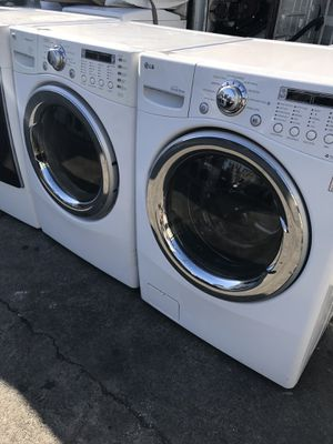 LG washer and dryer great condition for Sale in La Habra, CA