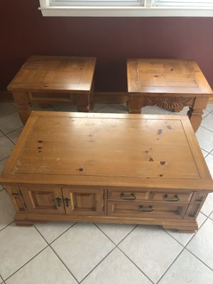 End tables & coffee table for Sale in Philadelphia, PA