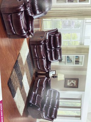 Sofa and love seat recliner for Sale in Yonkers, NY