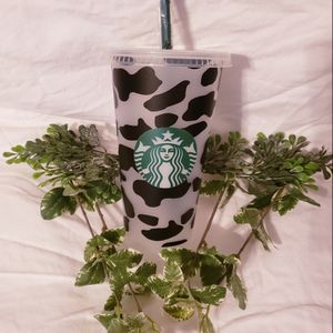Cow Print Starbucks Cold Cup! for Sale in Hartwell, GA