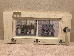 "Shabby Chic ""Cupbooard"" Wall Hanger for Sale in Longbranch, WA"