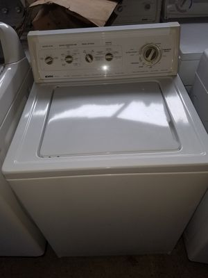Kenmore washer XL capacity # WARRANTY for Sale in Houston, TX