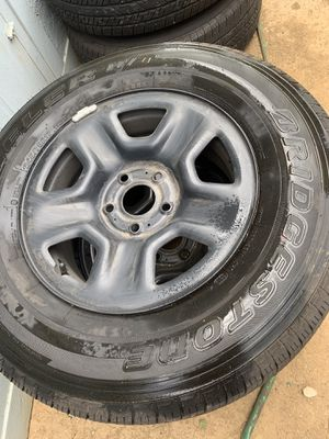 Black Rimmed 245/75R17 Tires for $ALE for Sale in Compton, CA