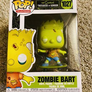 Funko Pop Zombie Bart for Sale in Sunnyvale, CA