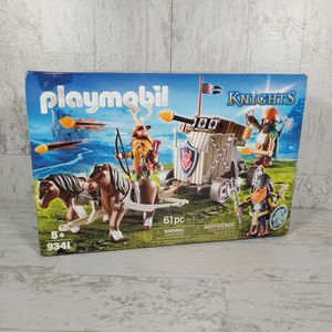 Playmobil Knights Set No. 9341 - Horse-Drawn Ballista - 61pc - Sealed for Sale in Columbia, SC