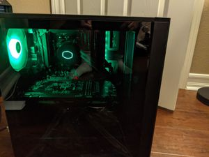 New Gaming PC Computer ryzen 7 2700x 32GB RAM 1tb ssd gtx1070 3tb hdd win 10 pro water cooled for Sale in Rancho Cucamonga, CA