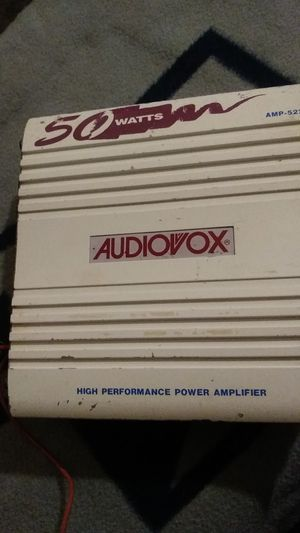 Car audio Amp for Sale in Fort Worth, TX