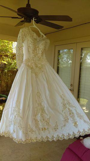 Weadding dress , vestido para novia bonito excelente for Sale in Pasadena, TX