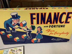 Vintage 1936 FINANCE and FORTUNE game for Sale in Leavenworth, WA