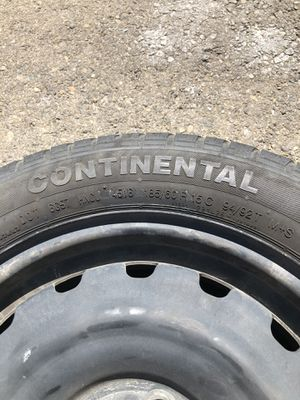 Continental Tires 185/60R15 for Sale in Clovis, CA