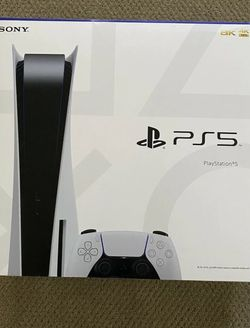Sony PlayStation 5 (PS5) Console Disc Version. BRAND NEW! IN HAND!! for Sale in Northfield,  IL