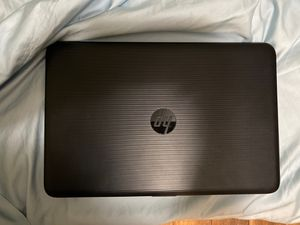 15 in HP Laptop with power cord. for Sale in Cyril, OK