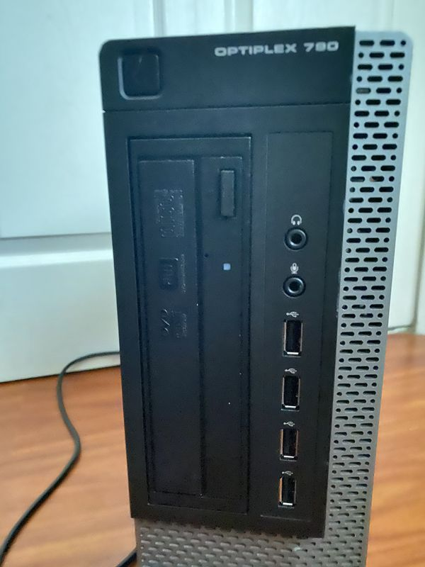 Upgarded Dell Optiplex 790 computer tower