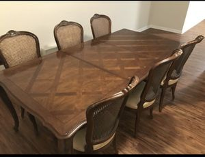 Dining room table (hickory) by Century Furniture for Sale in Rockville, MD