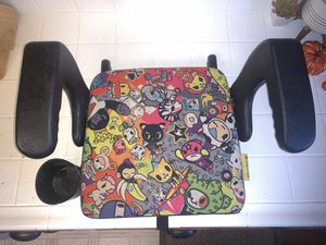 Special Edition Tokidoki Clek Olli portable booster car seat lightweight latching Chicco Peg Perego Britax for Sale in Bellflower, CA