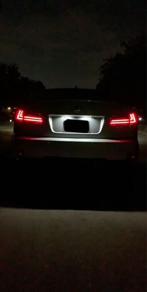 Lexus is250 is350 2006-2012 Mostplus tail lights smoke tinted for Sale in Mesquite, TX