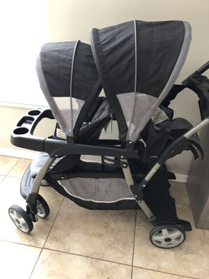 Graco ready2grow double stroller for Sale in Tampa, FL