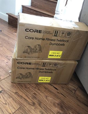 Code Home Fitness Twistlock Dumbells for Sale in Grover Beach, CA