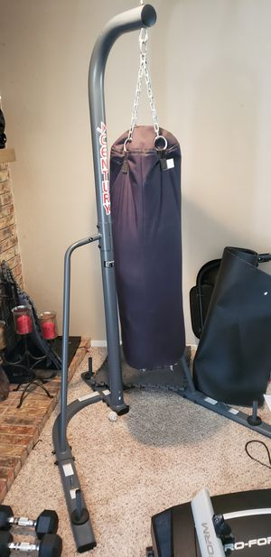 Century punching bag and Stand for Sale in Plano, TX