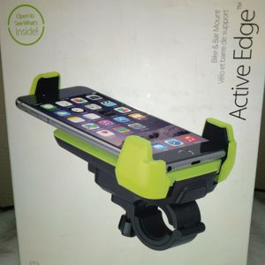 BIKE MOUNT IOTTIE ACTIVE EDGE BIKE AND BAR MOTORCYCLE MOUNT FOR IPHONE 7/64/.7 5S/SC/4A GALAXY S9PLUS for Sale in Tampa, FL